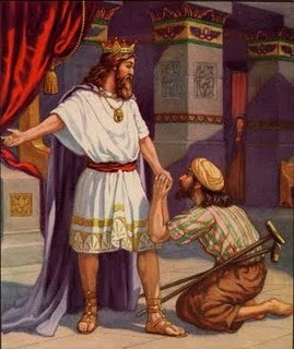 Daud meets Mefiboset